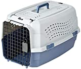 AmazonBasics Transportbox für Haustiere, 2 Türen, 1...