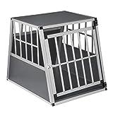 EUGAD Hundebox Transportbox Hundetransportbox Alu...