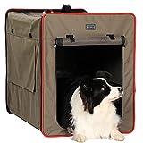 Petsfit faltbar Hundebox Transportbox für Auto &...