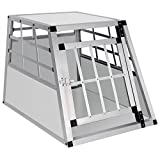 EUGAD Hundebox Transportbox Hundetransportbox Aluminium...