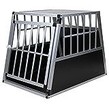 Hundetransportbox Alu Größe xxl von Jalano schwarz /...